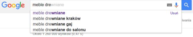 long tail google seo