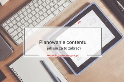 planowanie contentu