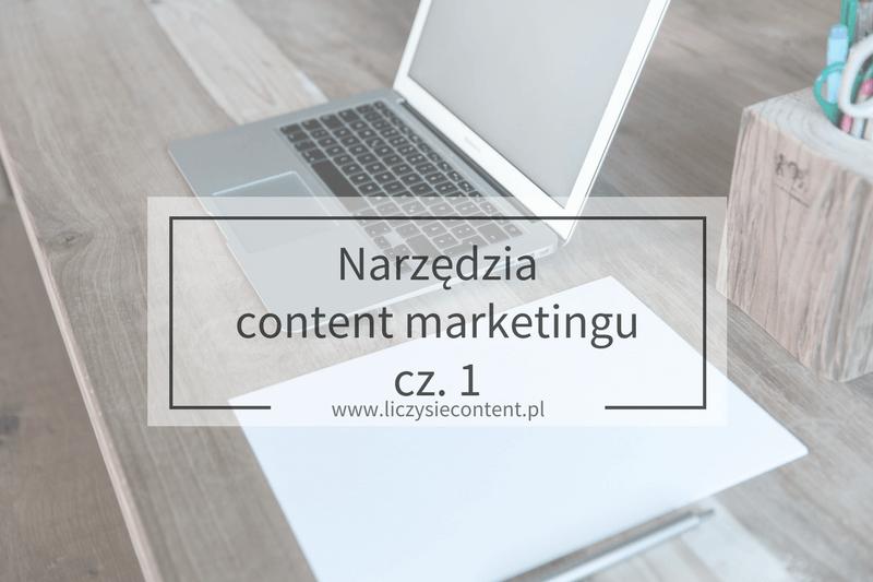 narzędzia content marketingu