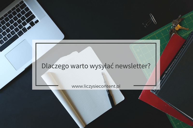 newsletter po co