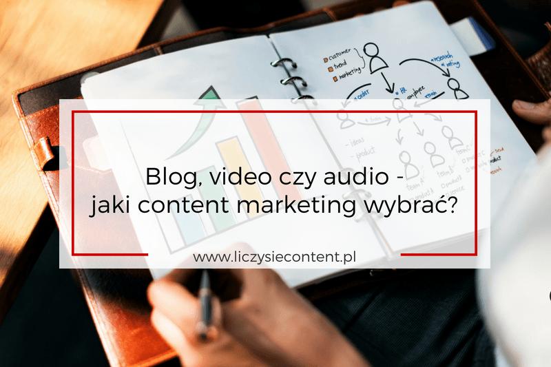 jaki content marketing wybrać