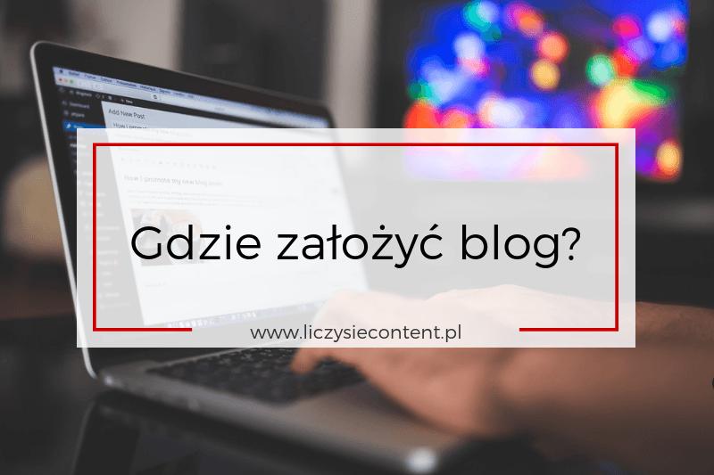 gdzie założyć bloga