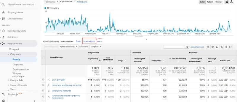 Google Analytics podstawy