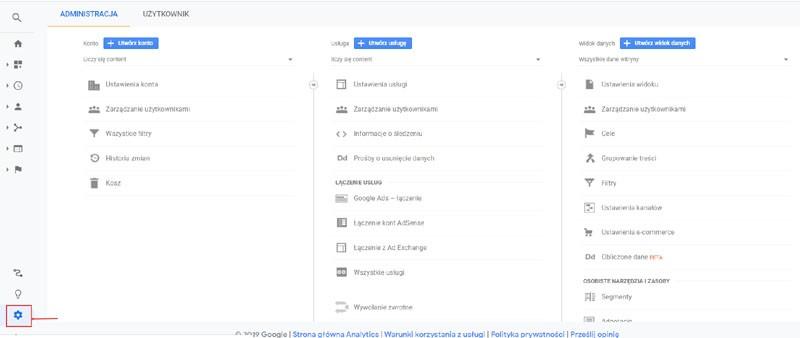 jak dodać stronę doGoogle Analytics