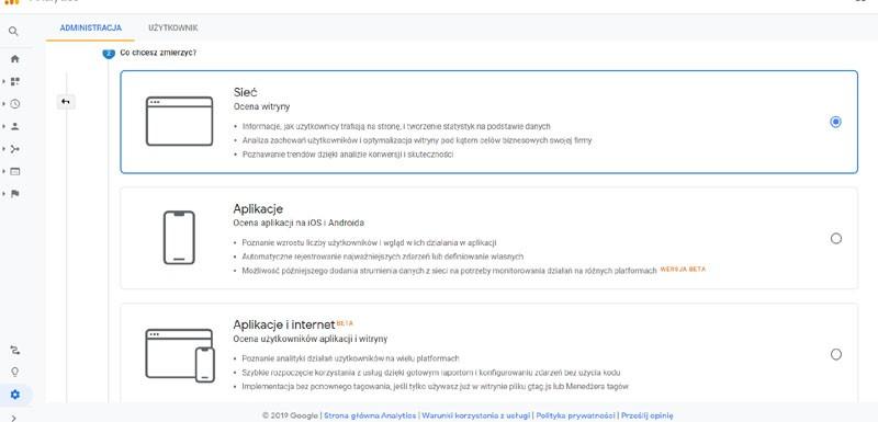 google analytics kod śledzenia