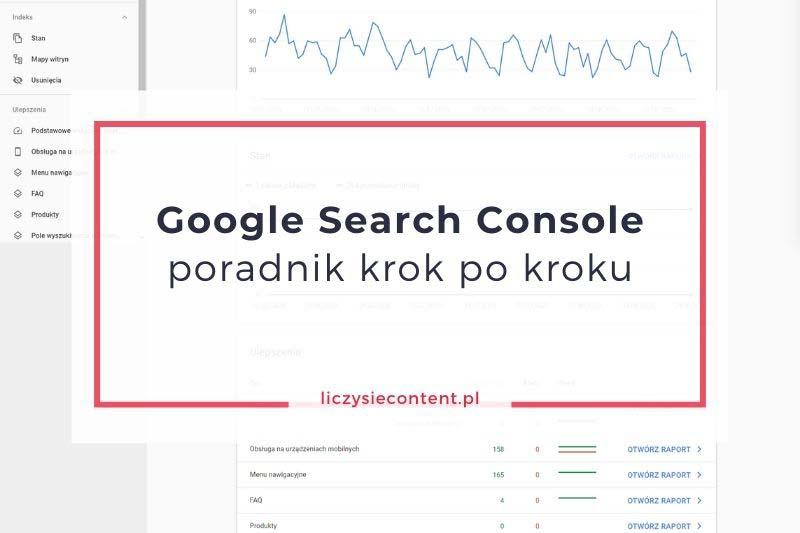 google search console poradnik krok pokroku