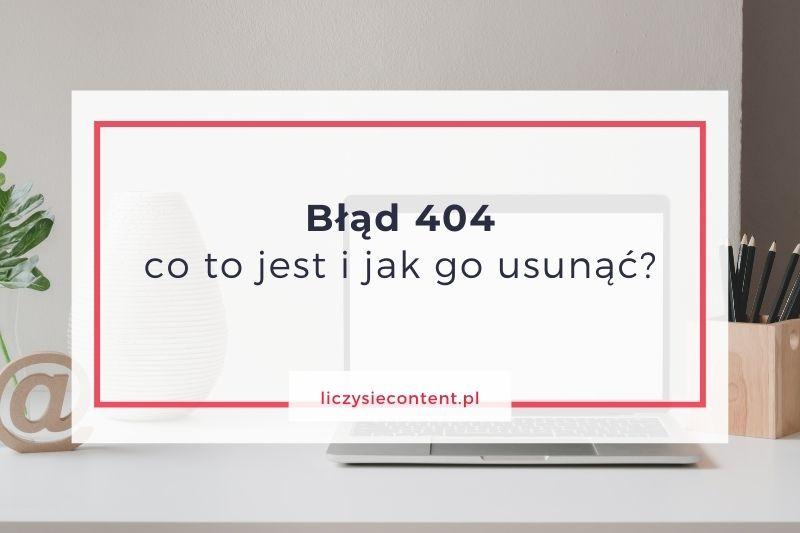 błąd 404 jak usunąć